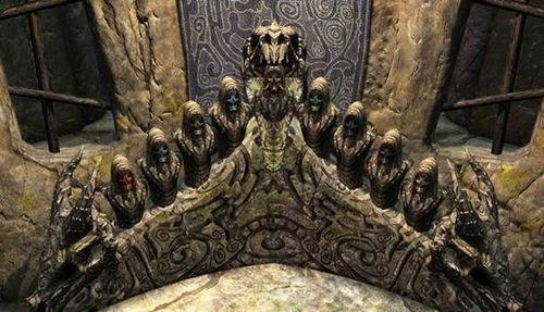 Где найти маски драконьих жрецов в Скайриме