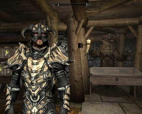 Как сделать драконью броню в Скайриме