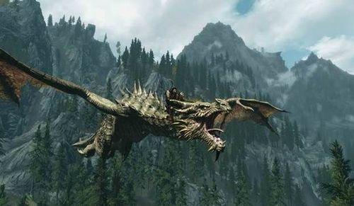 Как приручить дракона в Скайриме