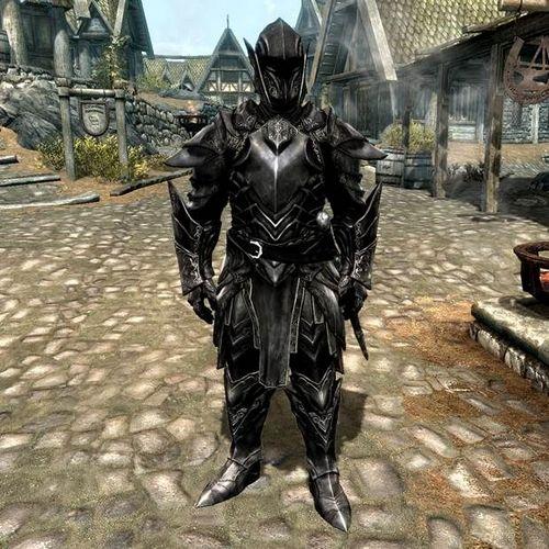 Эбонитовый Воин в Skyrim