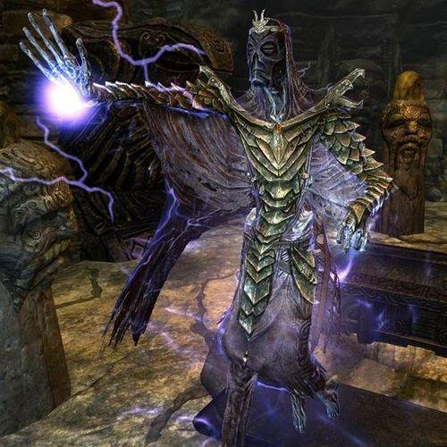 Драконьи жрецы Skyrim