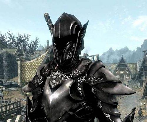 Эбонитовая броня Skyrim – Где найти эбонитовые доспехи, кольчугу, броню