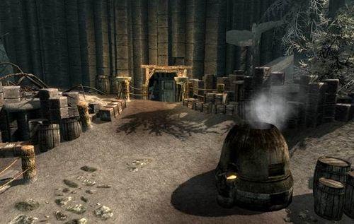 Шахта Вороней Скалы Skyrim – Как открыть дверь