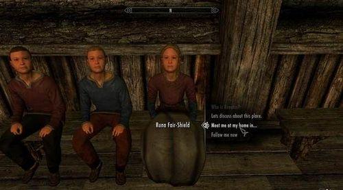Как завести ребёнка в Скайриме