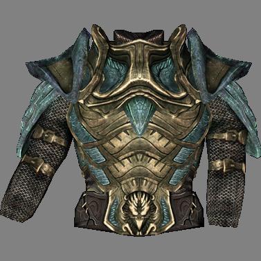 Стеклянная броня Skyrim