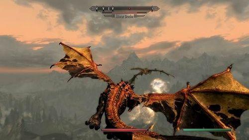 Скачать мод на превращение в дракона на Скайрим