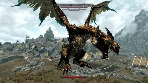 Скачать мод Deadly Dragons на Skyrim