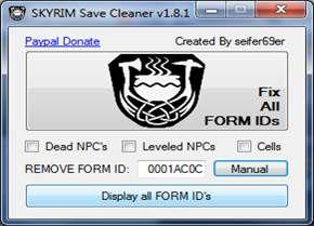 Скачать Save Cleaner для Skyrim
