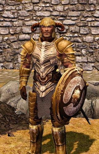 Скачать мод на броню Довакина на Скайрим