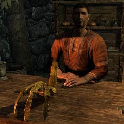 Золотой коготь – прохождение квеста в скайриме: The Elder Scrolls 5